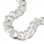 curb chain, 10,7mm, 55cm, silver 925