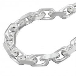 Armband Anker 4x diamantiert Silber 925