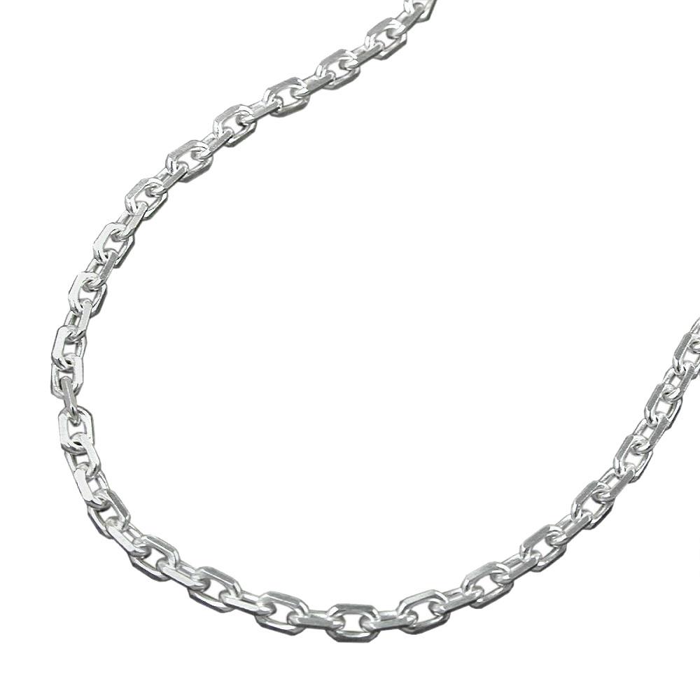 Silberkette 50 cm lang Silber 925 NEU Halskette Panzerkette
