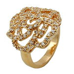 Ringe gold-plated Doublé
