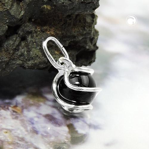 Armband Collier 925 ECHT SILBER *** Quarz orange braun Ohrringe oder Set